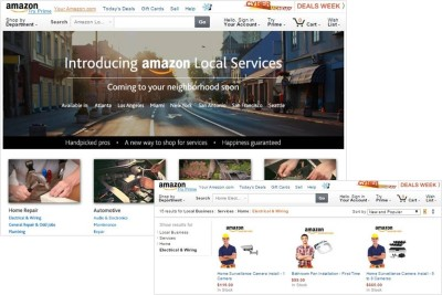 Amazon Local Service 런칭 (Source: Amazon)
